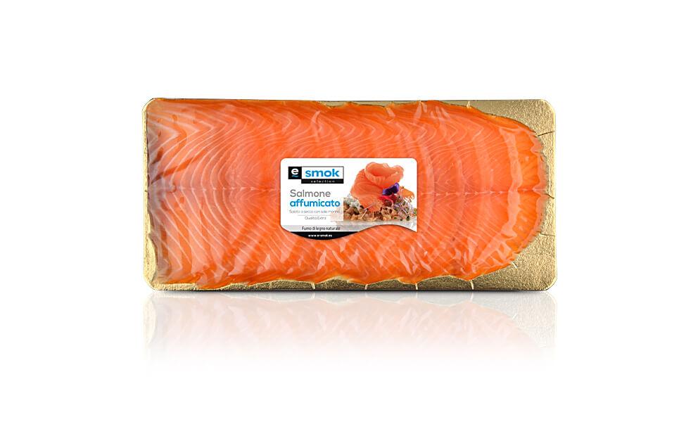 Salmone affumicato busta 300 gr