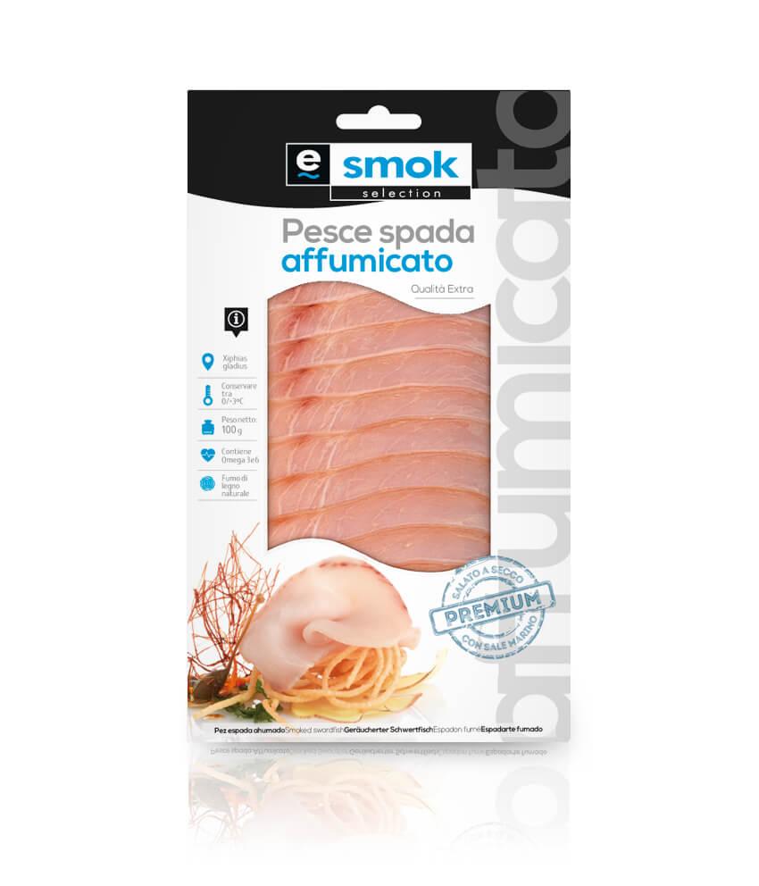 Pesce spada affumicato 100 g
