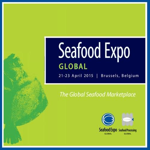 E-smok en Seafood Expo Global (Bruselas)