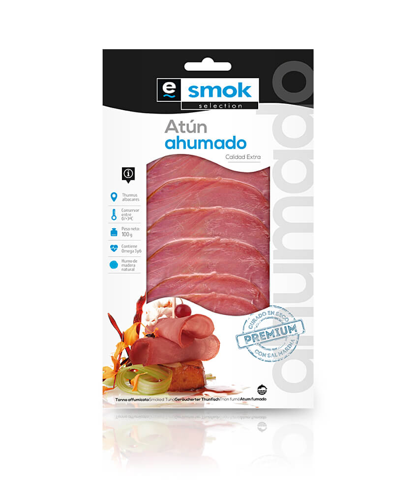 Smoked tuna - vacuum bag 100 g