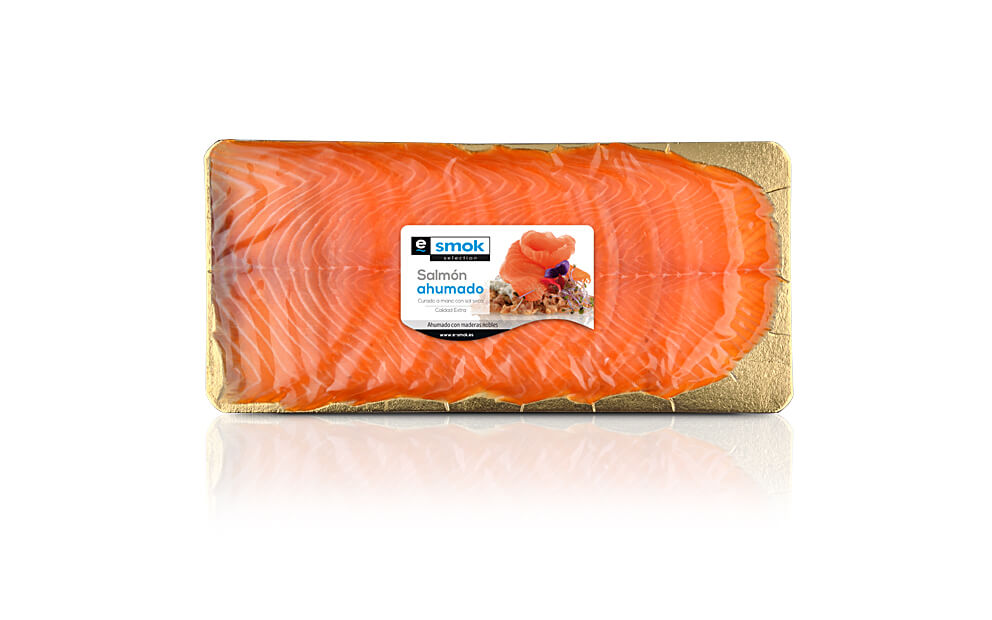 Smoked salmon - vacuum bag 300 gr