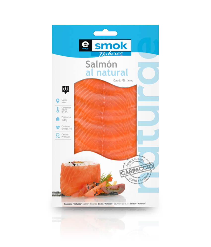 Carpaccio salmón