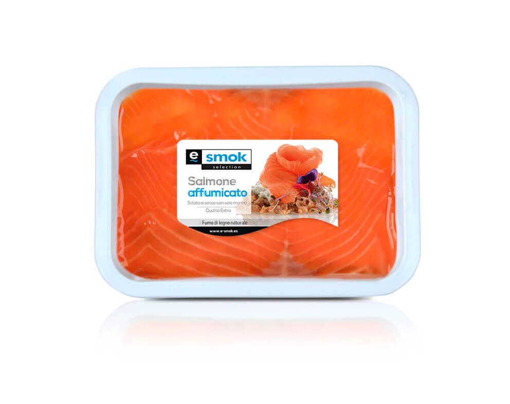 Salmone affumicato in olio - terrina 400 g